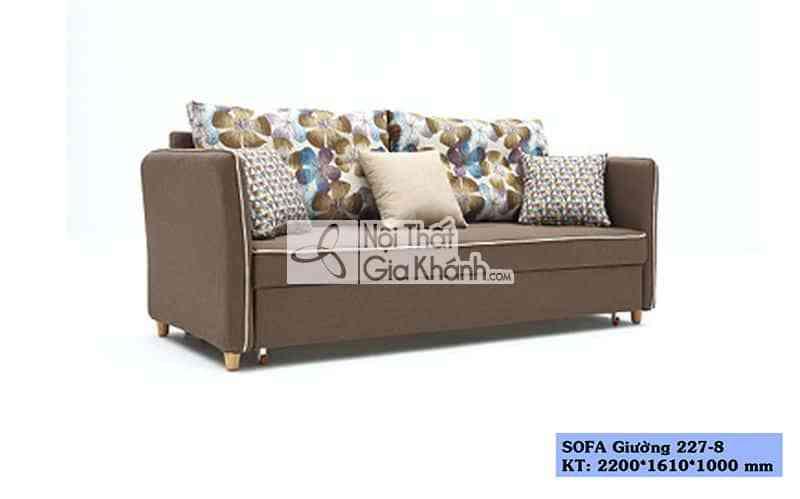 sofa giuong ghe giuong sofa da nang sf227 8 - Sofa giường - Ghế giường Sofa đa năng SF227-8