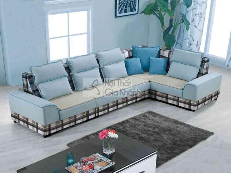 Sofa hiện đại vải 3 băng phòng khách giá rẻ 8363