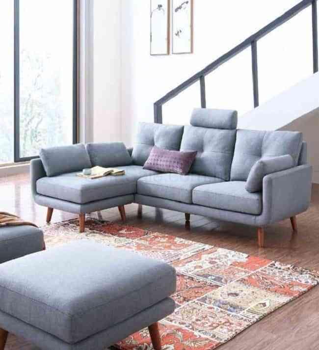 Những mẫu bàn ghế sofa phòng khách nhỏ cực phù hợp