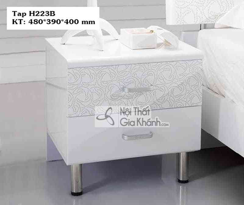 Tab đầu giường hiện đại HĐ223B - tab dau giuong hien dai hd223b