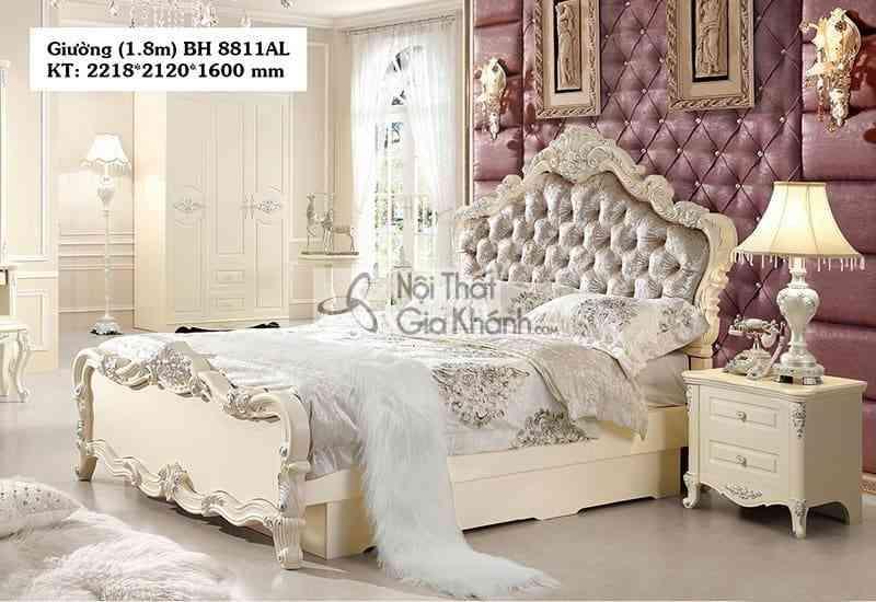 tab dau giuong tan co dien bh88 a 2 - Bộ phòng ngủ tân cổ điển giá rẻ BH01BG