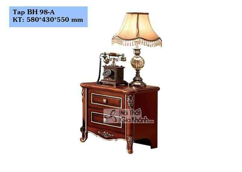 Tab đầu giường tân cổ điển BH98-A - tab dau giuong tan co dien bh98 a