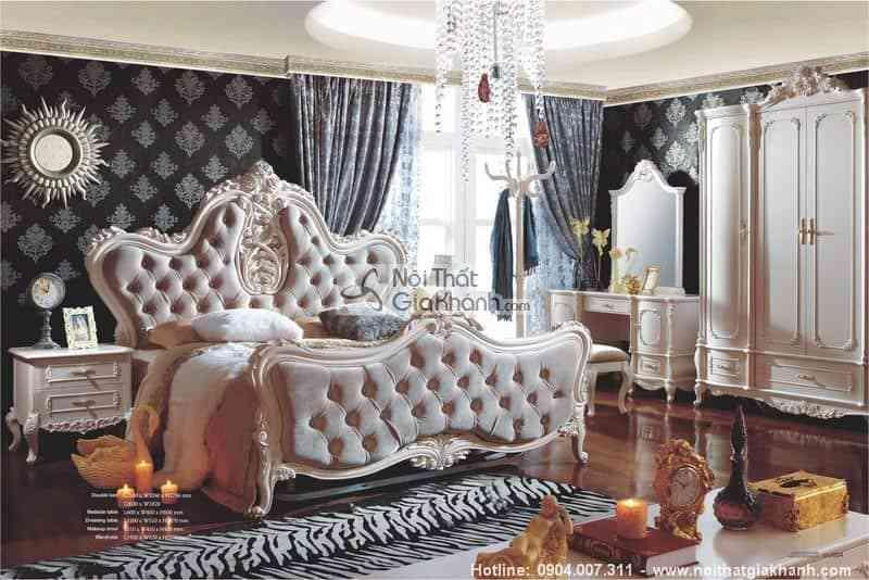 Thiết kế nội thất phòng ngủ cổ điển cực sang trọng - thiet ke noi that phong ngu co dien cuc sang trong 4
