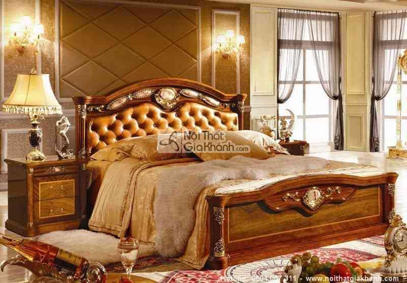 Thiết kế nội thất phòng ngủ cổ điển cực sang trọng - thiet ke noi that phong ngu co dien cuc sang trong