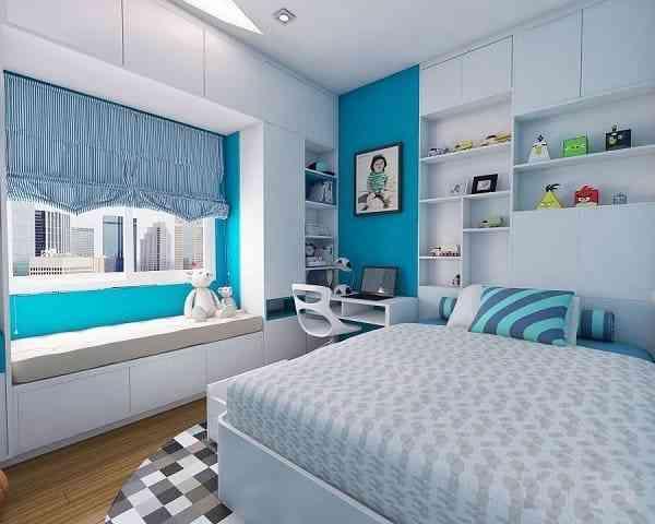 Trang trí nội thất phòng ngủ diện tích 12m2 - trang tri noi that phong ngu dien tich 12m2 3