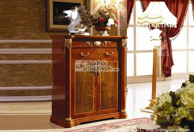 Tủ giầy phong cách cổ điển KH508TG