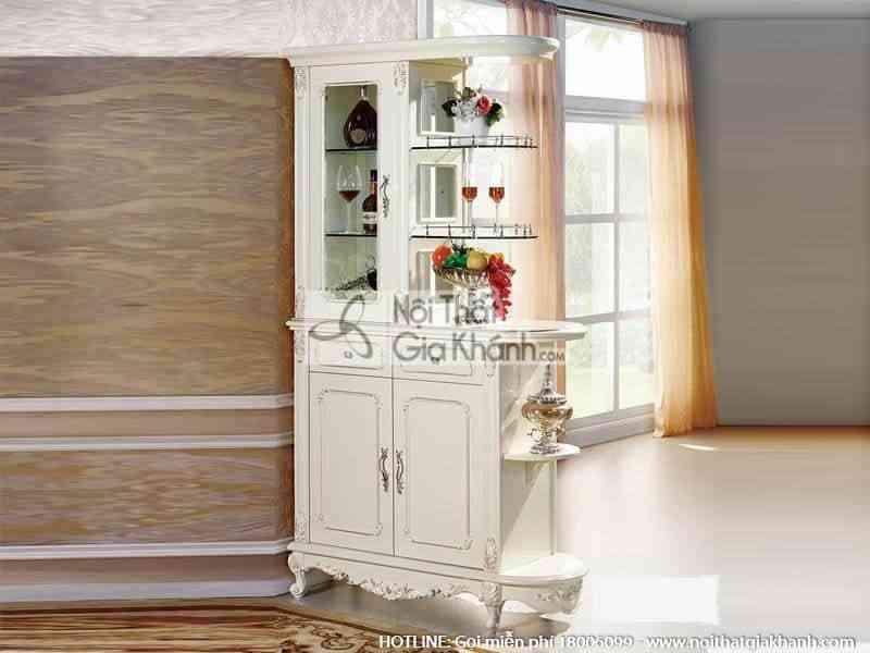 Tủ Rượu Gỗ Phòng Khách Nhập Khẩu TR8801H-2