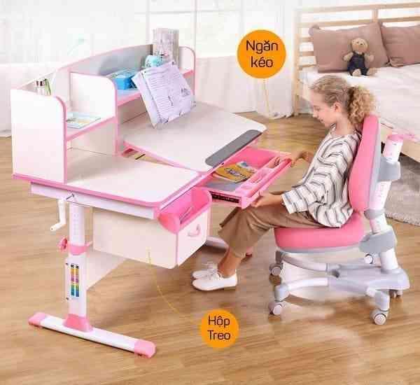 Bộ bàn ghế học thông minh cho bé được các phụ huynh tin dùng (02)