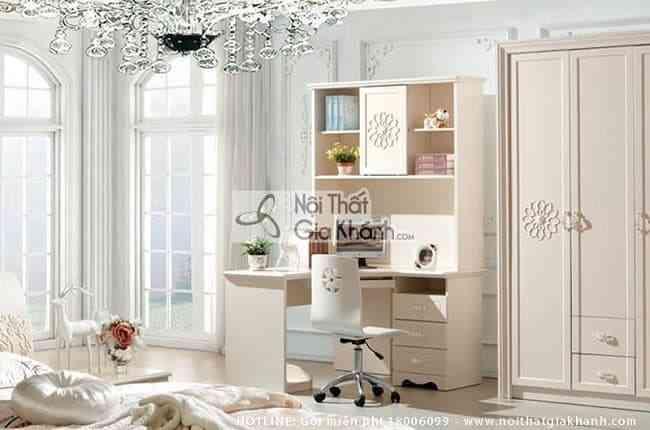 Các mẫu thiết kế bàn làm việc thông minh trong phòng ngủ (04)