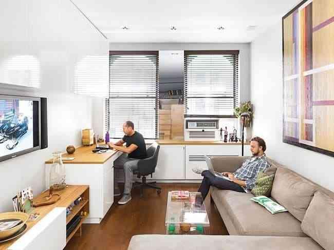 Cách bố trí phòng làm việc tại nhà đẹp không tưởng (4)