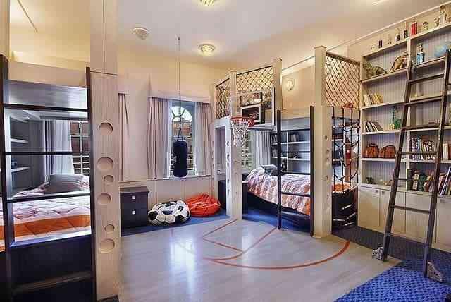 Cùng ngắm những mẫu phòng ngủ trẻ em đẹp nhất thế giới