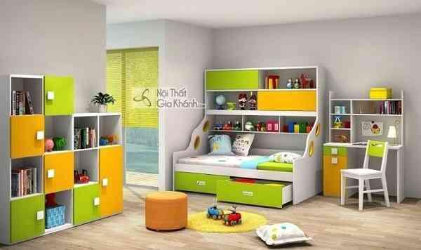 Giường mini cho bé tiết kiệm diện tích hiệu quả (03)
