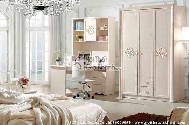 Mẫu tủ quần áo cho phòng ngủ nhỏ cực chất (03)