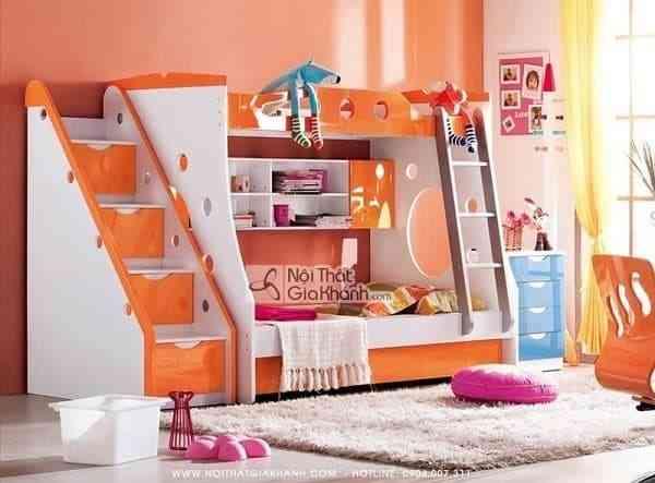 Sắm giường tầng cho bé trai và bé gái xinh xắn và an toàn (1)