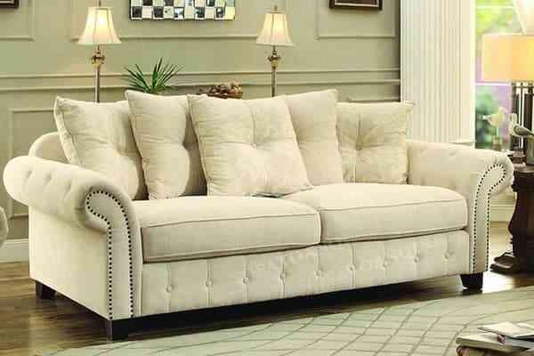 Sofa nỉ góc chữ L hiện đại SF309-2F - sofa vang dep cho phong khach 2