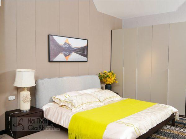 Thêm sự lựa chọn với những mẫu giường ngủ bọc nỉ và nệm đẹp