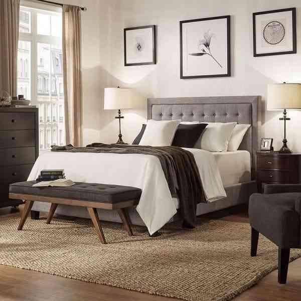 Thêm sự lựa chọn với những mẫu giường ngủ bọc nỉ và nệm đẹp - them su lua chon voi nhung mau giuong ngu boc ni va nem dep 2