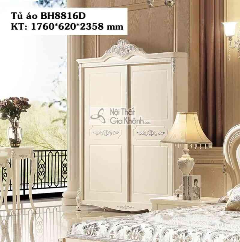 Tủ áo tân cổ điển giá rẻ BH8816D2