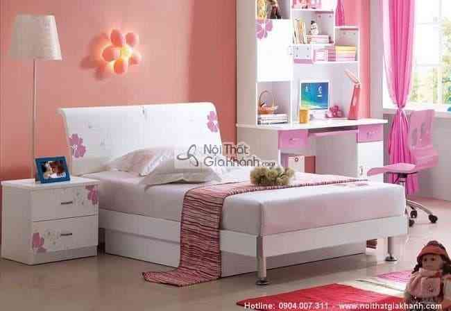 Tư vấn trang trí, thiết kế phòng ngủ đẹp cho bé gái (02)