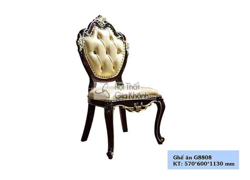 Ghế ăn không tay tân cổ điển G8808Y