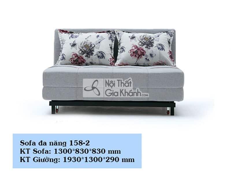 Sofa giường - Sofa đa năng - Ghế sofa bed mã SF158-2