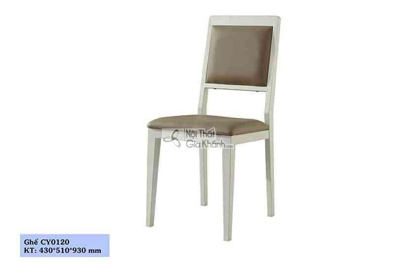 Ghế ăn bọc da cao cấp cho phòng ăn sang trọng CY0120 - CY0120
