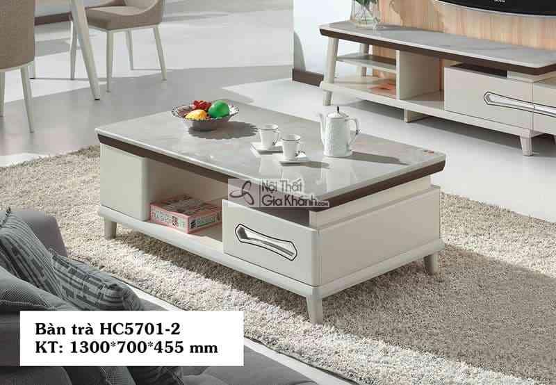 Bàn trà (Bàn Sofa) gỗ nhỏ gọn cho phong cách hiện đại HC5701-2