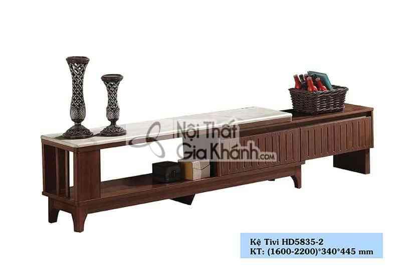 Kệ tivi gỗ công nghiệp đa năng nhập khẩu từ Trung Quốc HD5835-2 - HD5835 2