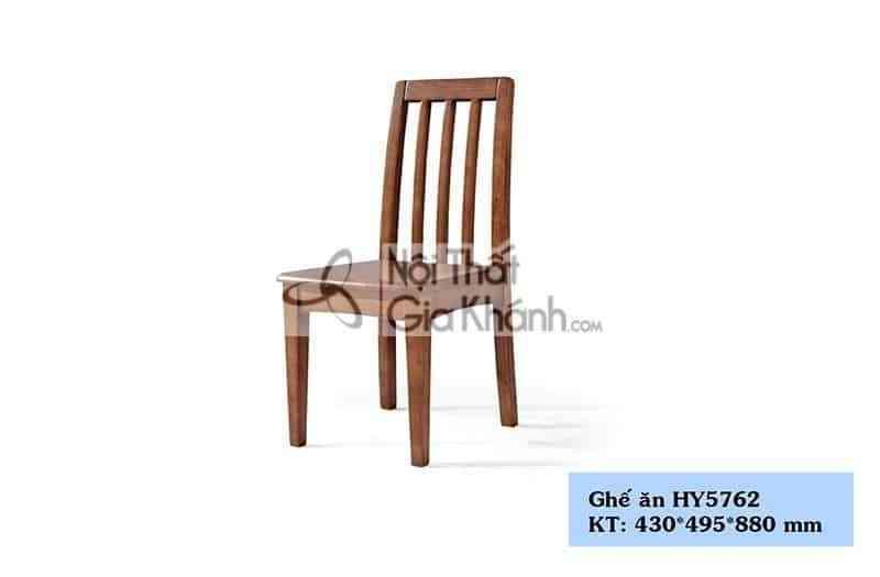 Ghế ăn gỗ màu nâu kiểu dáng đơn giản HY5762 - HY5762