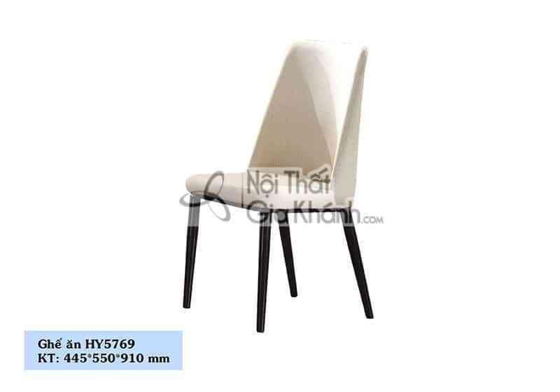 Ghế ăn nỉ chân kim loại cao cấp HY5769 - HY5769
