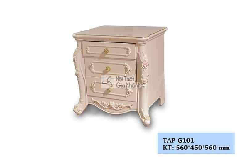 Táp đầu giường tân cổ điển gỗ Sồi cao cấp G101 - tap G101