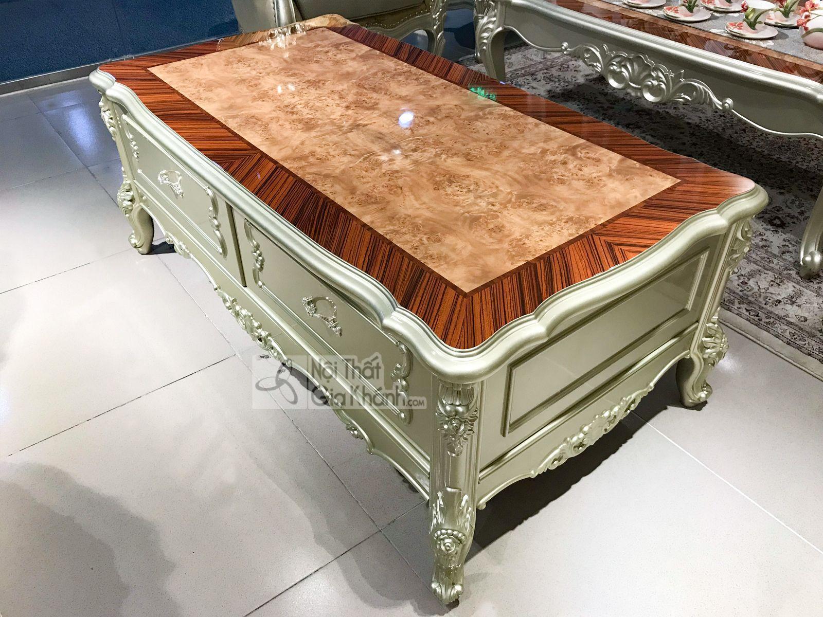 ban tra co ngan keo phong khach gk8801bt1.4 1 - Bàn trà (Bàn sofa) gỗ phòng khách tân cổ điển sang trọng GK8801BT1.4