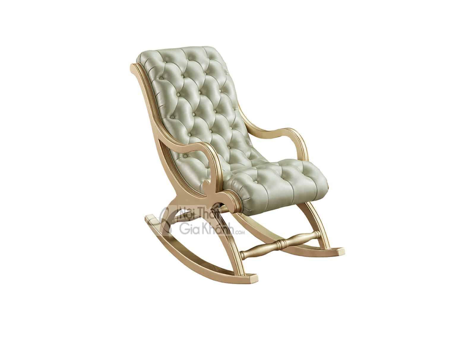 ghe sofa thu gian tan co dien go gk8801s 2 - Ghế thư giãn có đôn gác chân phong cách tân cổ điển GT8801A (Mẫu mới nhất)