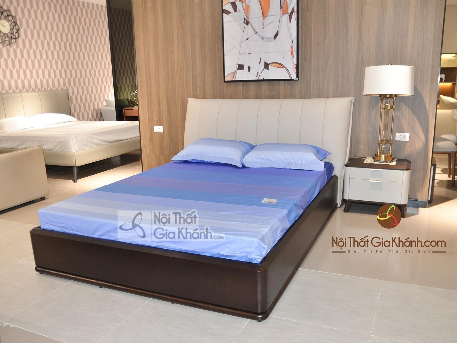 Giường ngủ gỗ hiện đại sang trọng GI1810T-15