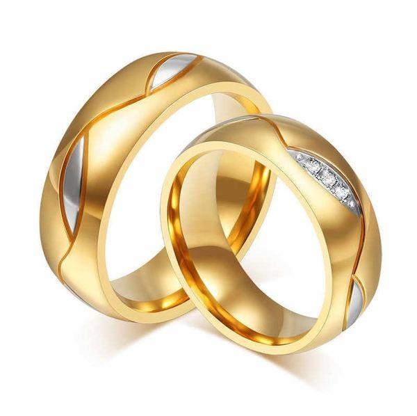 Mẫu nhẫn đôi đẹp 2020 bằng vàng đẹp