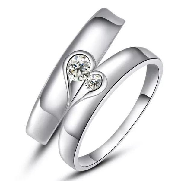 những mẫu nhẵn cưới đẹp 2020 bằng bạc