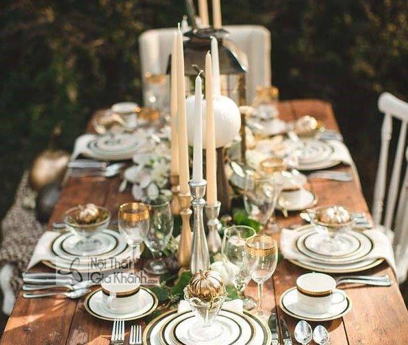Cách trang trí bàn ăn đẹp - cach trang tri ban an dep 1