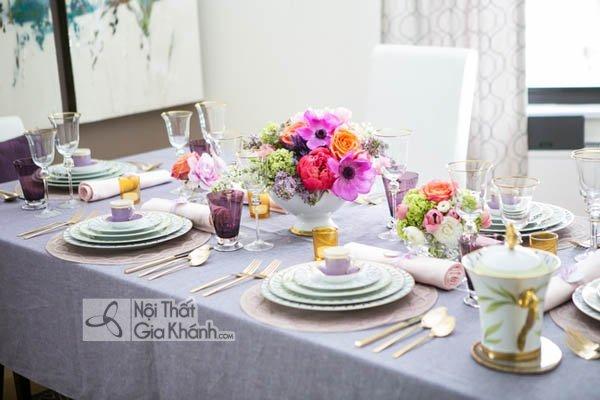 Cách trang trí bàn ăn đẹp - cach trang tri ban an dep 3