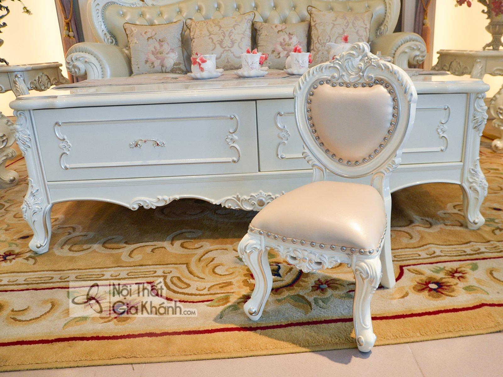 Ghế baby đặt cùng sofa tân cổ điển GB8801H