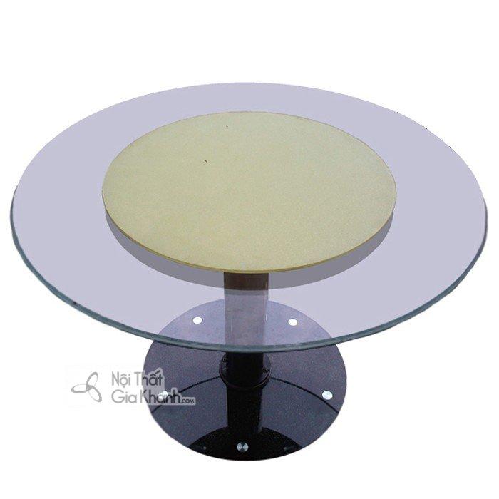 Mâm xoay bàn ăn - Phụ kiện bàn ăn thông minh - mam xoay ban an 2