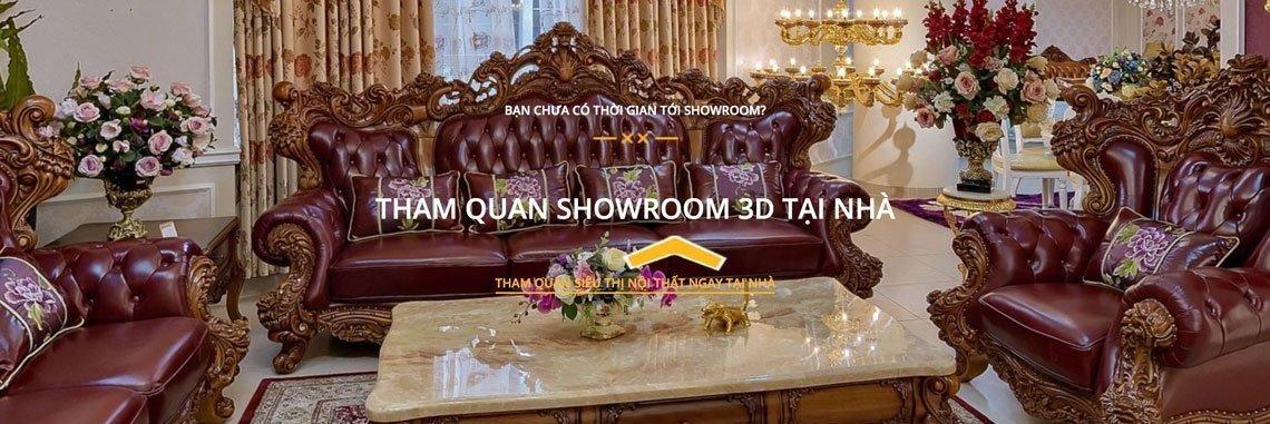 Siêu thị nội thất nhập khẩu top 1 Hà Nội - showroom3d 1