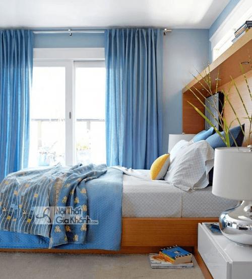 10 mẫu nhà sơn tường màu xanh tươi mát