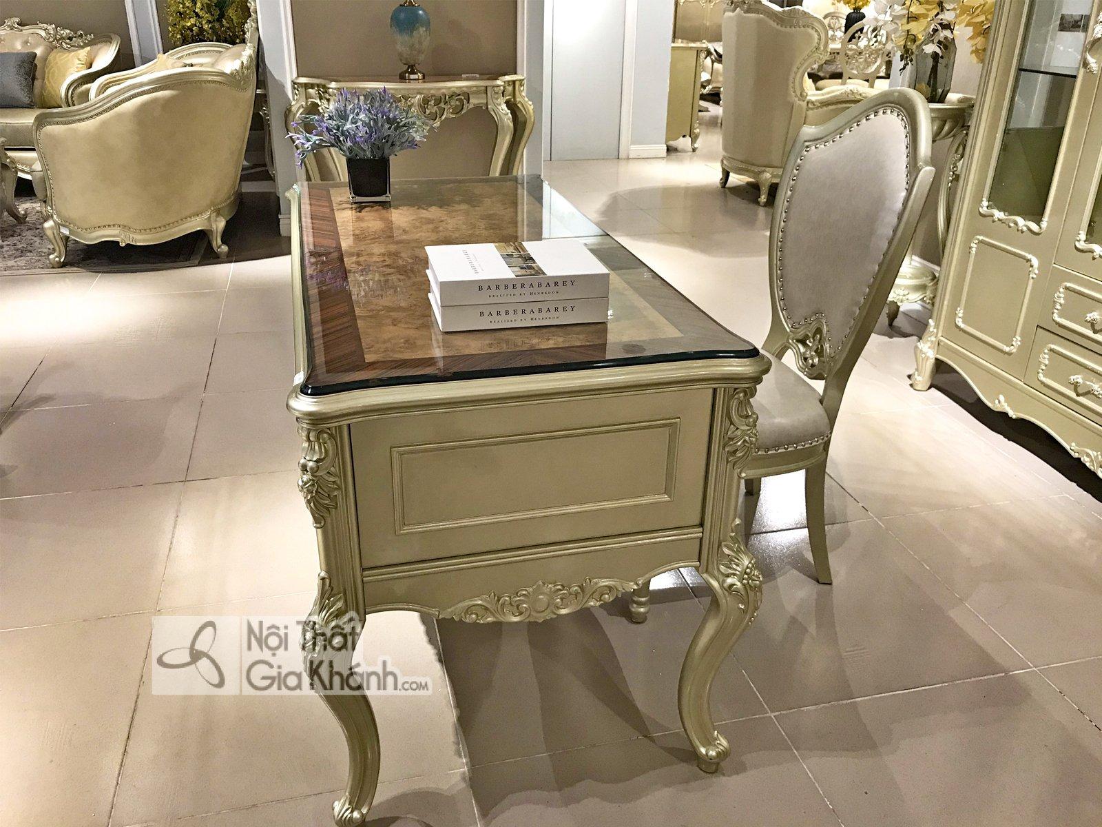 Bộ bàn làm việc phong cách Tân cổ điển GK8801LV