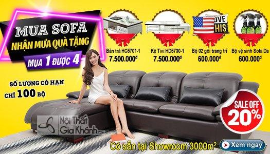 Siêu thị nội thất nhập khẩu top 1 Hà Nội - banner km sofa da 902 919 933 2