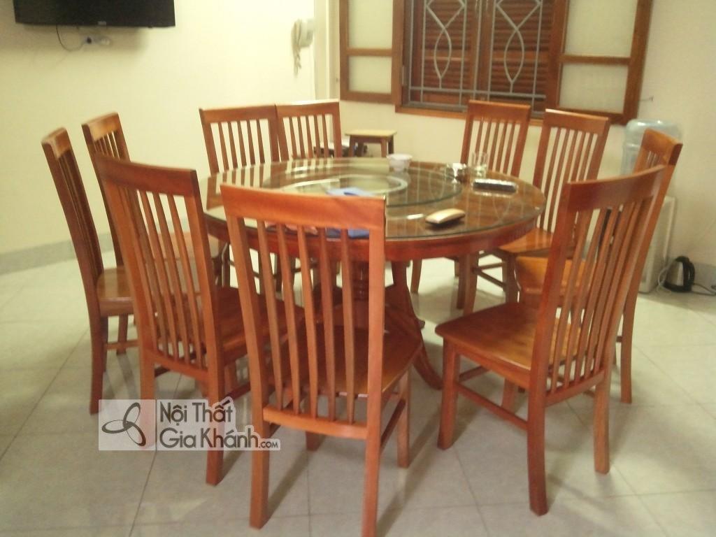 Top mẫu bộ bàn ăn 10 ghế đẹp vạn người mê - bo ban an 10 ghe 3