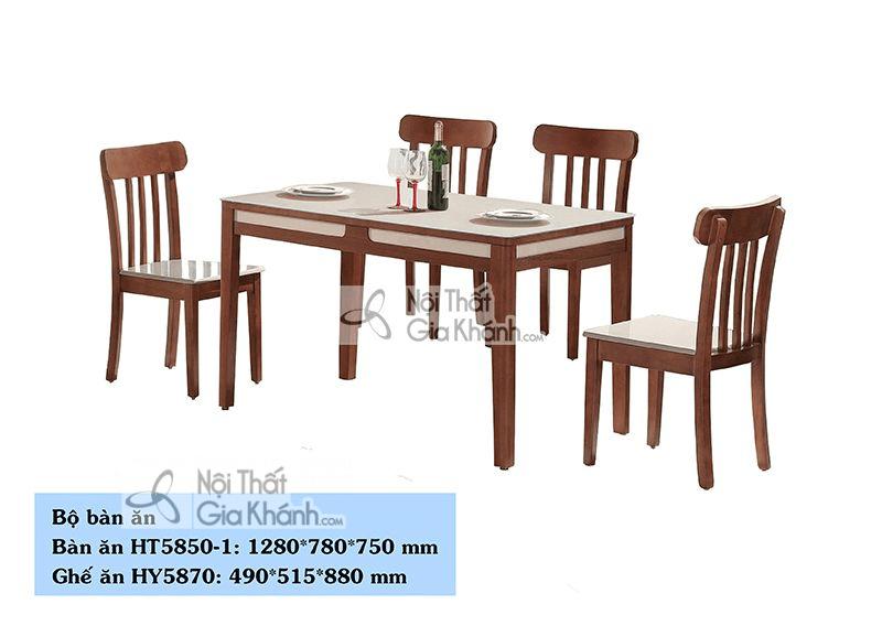 Bộ bàn ghế ăn của thương hiệu Modern Furniture