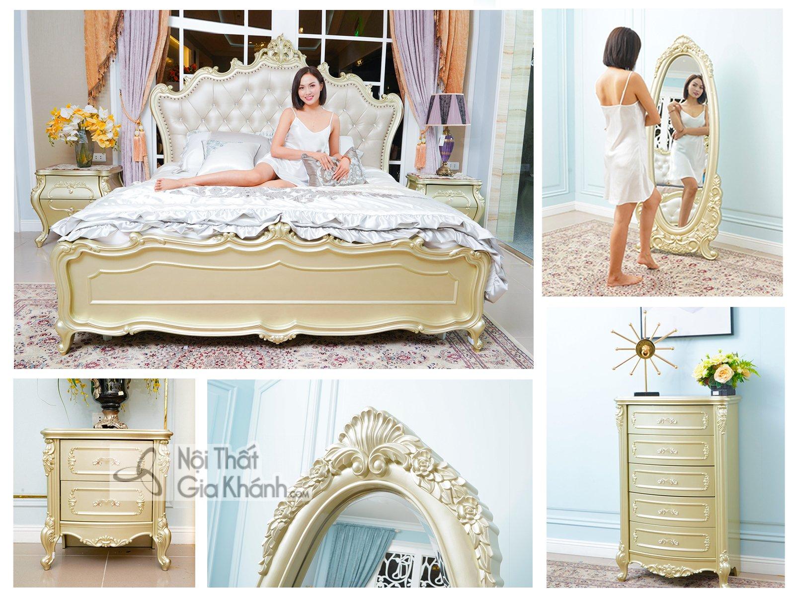Bộ phòng ngủ phong cách hoàng gia GK88BG-06 - bo phong ngu phong cach hoang gia gk88bg 06 1