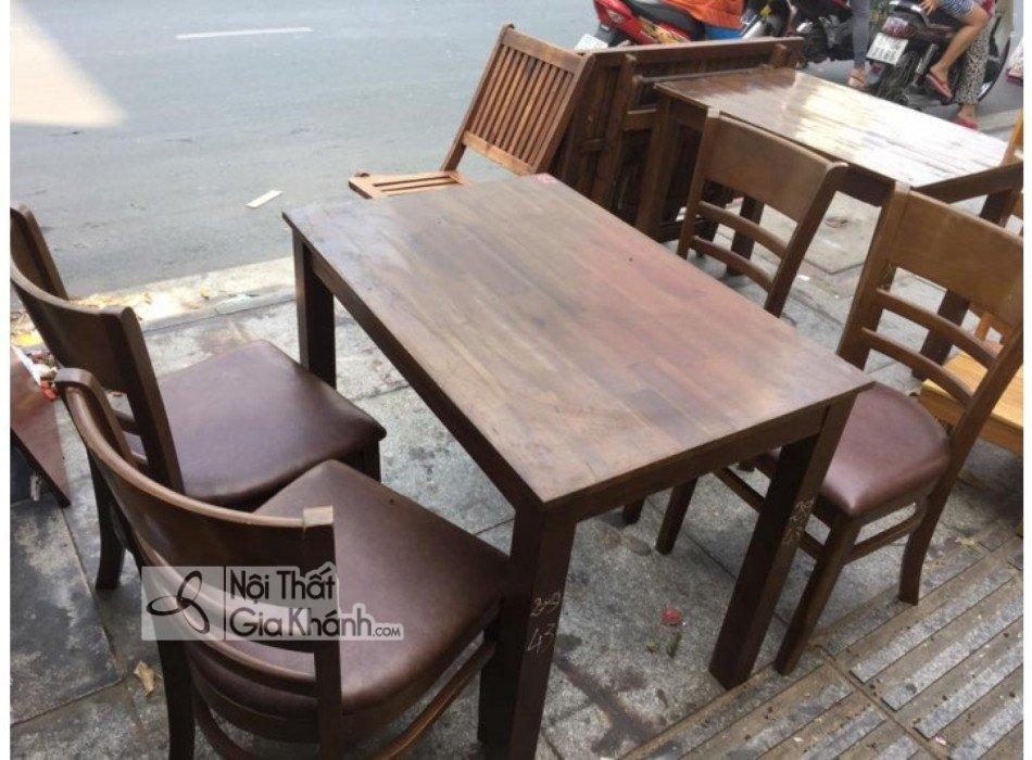 Có nên mua bộ bàn ghế ăn cũ