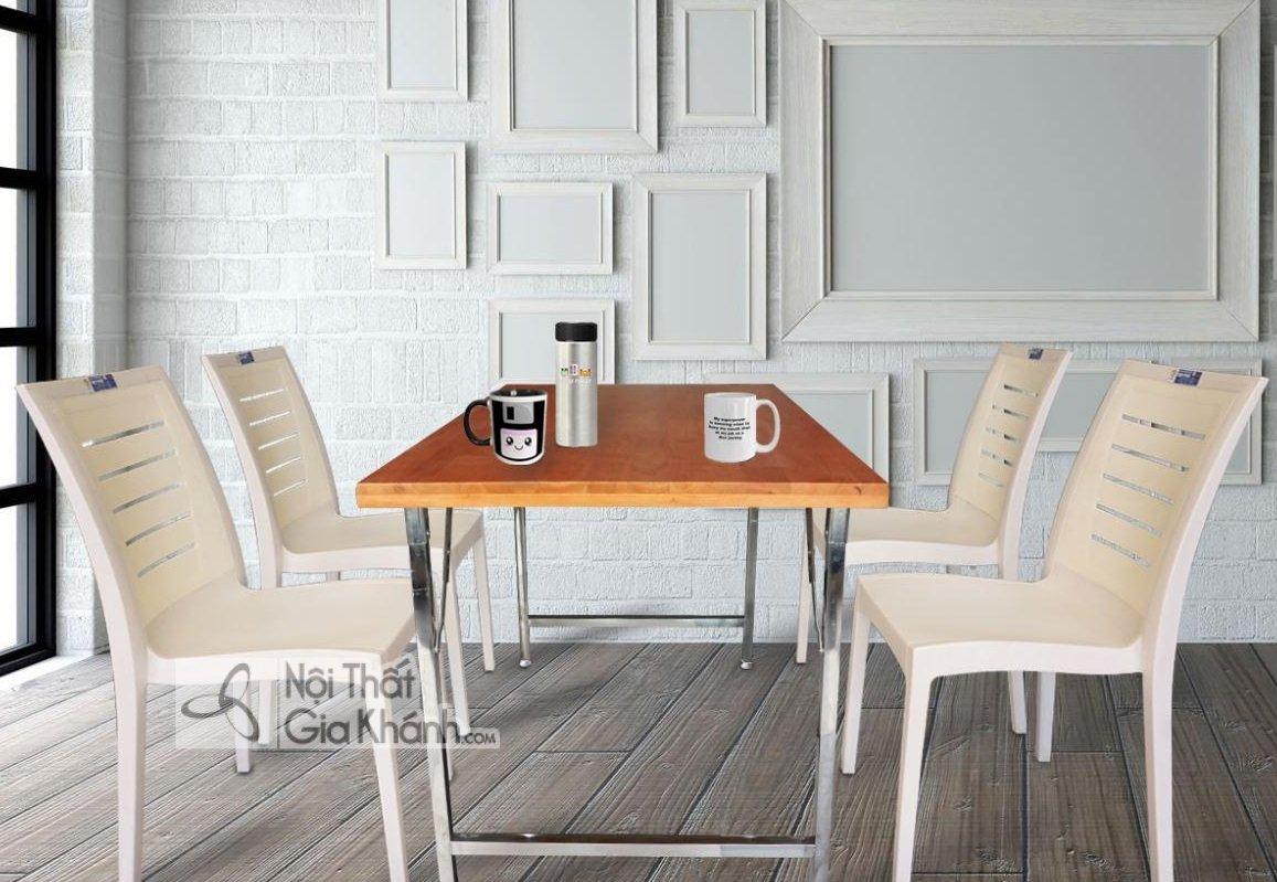 Ghế ăn bằng nhựa đẹp - ghe an bang nhua dep 1