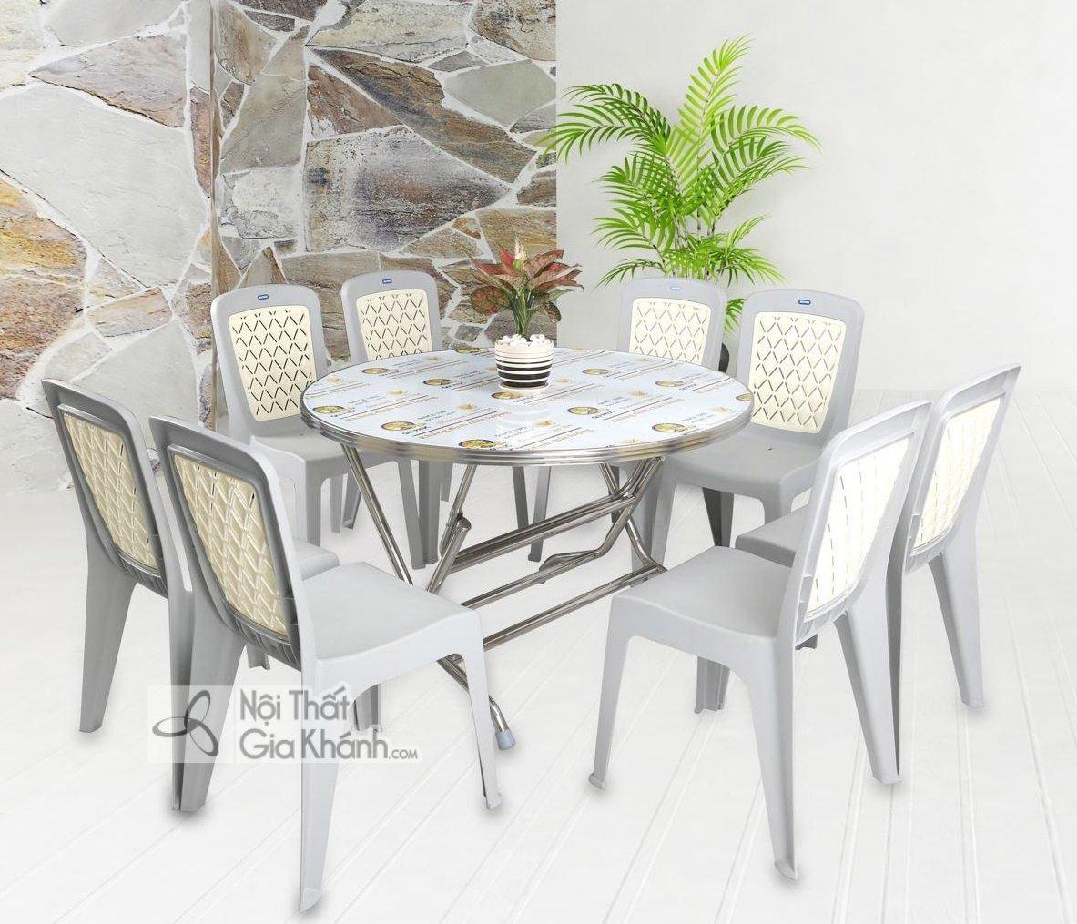 Mẫu ghế ăn bằng nhựa đẹp